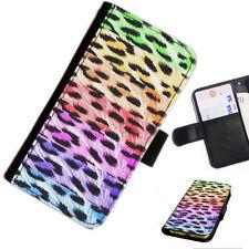 Fundas con tapa color principal negro con estampado para teléfonos móviles y PDAs