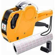 Mx5500 Pricing Tag Gun With 5150 Pcs White Label Stickers & 2 Inker Free Ship