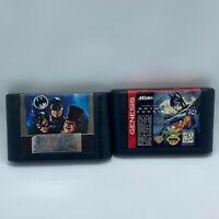 1992 Sega Genesis Batman Returns & Batman Forever Video Game Cartridge Only