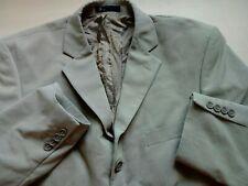 Mens Beige Suit Jacket Blazer 42'' Short
