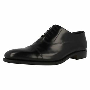 Mens Loake Leather Lace Up Toe Cap Shoes CAGNEY F Fit
