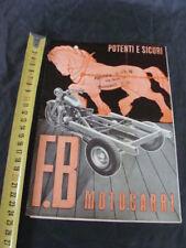 Brochure Motocarri F.B.Mondial Titanus Monolito Ciclope old vintage