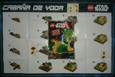 Lego Star Wars 911614 Cabaña de Yoda Cabin Hut Limited Edition Disney Exclusive