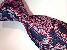NWT$230 Brioni Multi-Color  Silk  Made In Italy