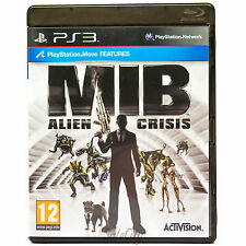 Men in Black: Alien Crisis (Sony PS3) Action Shooter Childrens Game Complete PAL