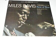 Rare MILES DAVIS Kind of Blue Vinyl LP Album 1963 2 Eye 360 Stereo CS816 - SALE!