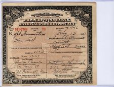 1927 PROHIBITION RX Prescription for Alcohol / SPIRITUS FRUMENTI = WHISKEY