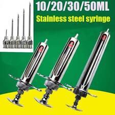 Adjusted Glassware Stainless Steel 13510pcs Lab Glass Sampler Syringe