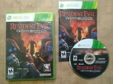 RESIDENT EVIL: OPERATION RACCOON CITY ~ NTSC Xbox 360 ~ TESTED ON PAL CONSOLE ~