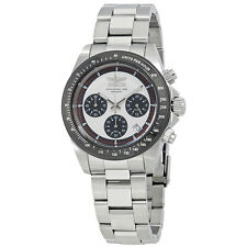 Invicta Speedway Chronograph Silver Dial Mens Watch 23121