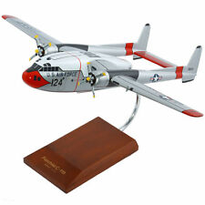 "Airplane USAF Fairchild AC-119G Shadow Flying Boxcar 15"" Wooden Model Aircraft"