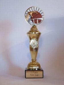 "Sport-Pokal ""Basketball"" mit Wunschgravur"