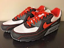 Nike Air Max 90 ID 2006 Sz 13 Patent & Buffalo Leather Infrared Deadstock