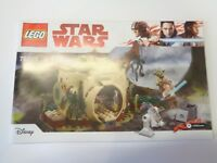 LEGO STAR WARS Notice / Instruction (75208) NEUF NEW Yoda's Hut