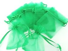 "100 Small Organza Sachet Gift Bag Pouch Party/Favors/supplies 2.5""x3"" NO2-Green"