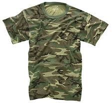Rothco Vintage Woodland Camo T-shirt