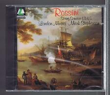 ROSSINI CD NEW STRING SONATAS 1.2.3.4.5 LONDON MUSICI MARK STEPHENSON