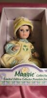 The Maggie Collection Limited Edition Collector Porcelain Doll New In Box