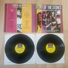 "The Rolling Stones - The Story Of 12"" Double Vinyl Gatefold Record K-Tel ‎NE 120"