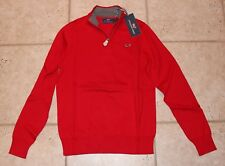 NWT Vineyard Vines Boys Large Size 16 Classic Quarter Zip Solid Tomato Check