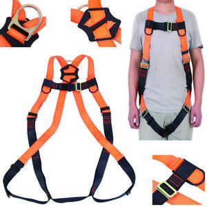 Safety Harness Arrest Full Body Lanyard Safety Fall protection Full Body Harness