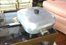 "Vintage Sunbeam Automatic Frypan Electric Skillet Model R-L Presto Kitchen 11.5"""