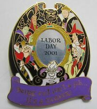 Disney Pin 6407 Villains Evil Career Labor Day 2001 Pin