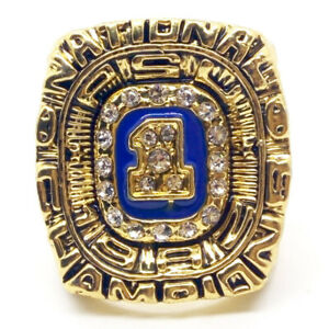 1982 Penn State Nittany Lions Championship Ring NCAA