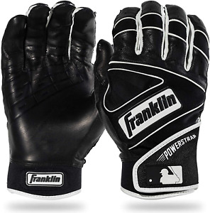 Franklin Sports Mlb Powerstrap Baseball Batting Gloves