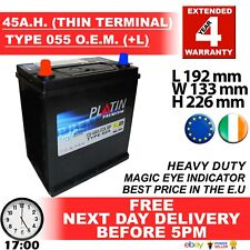 055 JAP Car Battery fits many Daihatsu Honda Mazda Mitsu Nissan Suzuki Toyota