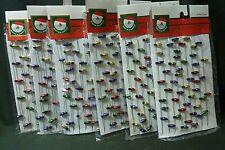 Kurt S. Adler, Inc. Santa's World 9' Mini Light Bulb Garland H2011 - 6 Packs