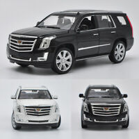 1:24 Scale 2017 Cadillac Escalade Full-Size SUV Model Car Diecast Collection