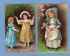 More details for set 6 children eva hollyer pcs unused  b b london series 2401 ref m659