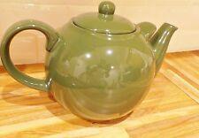Teiera London Pottery Globe 10 Tazza Verde Scuro-Mano di Supporto per versare