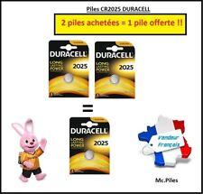 promo Knopfzelle cr2025 Lithium Duracell, 2 Batterien gekauft = 1 Batterie