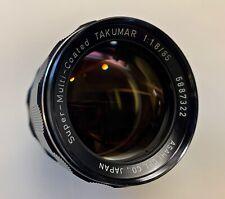Pentax Super Multi-Coated Takumar 85mm f1.8 for M42