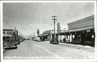 Tombstone AZ Allen Street Drug Store CLINE? Real Photo Postcard