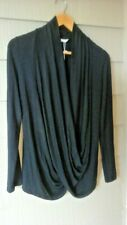 KINDRED BRAVELY Maternity Nursing Sz XS/Petite Black Dress Top Tunic Shirt NWT