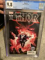 Thor #2 1st print CGC 9.8 - Strange Academy Preview. Black Winter Cameo