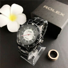 New In Box Women's&Men's Dress Stainless steel Wristwatches Round Fashion Watch