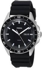 Fossil FS5290 Sport 54 Black Dial black Silicone Strap Men's Watch