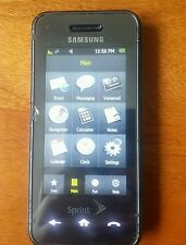 Samsung Instinct SPH-M800 - Black (Sprint) Cellular Phone