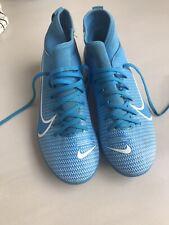 Boys Nike Mercurial Blue football Boots - UK Size 3
