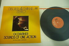 GODFATHER SOUNDS OF CINE ACTION LP SHAFT 10+1 GODFATHER DIRTY HARRY JAPAN PRESS