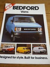 BEDFORD CF  BROCHURE 1980 81 jm