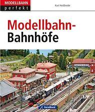 Modellbahn-Bahnhöfe Nebenbahn Postbahnhof Stellwerke Epochen Gleise Gebäude Buch