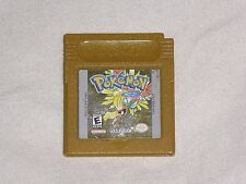 Pokemon Gold Nintendo GameBoy Color Game - Authentic & Working Save - READ