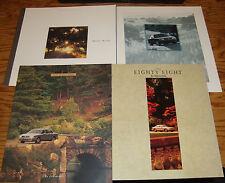 Original 1994 1995 1996 1997 Oldsmobile Eighty Eight 88 Sales Brochure Lot of 4