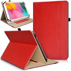 Étui Support Range Document Universel L Rouge pour Acer Iconia Tab 10 A3-A40