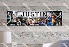 Personalized/Customized X-MEN Name Poster Wall Art Decoration Banner